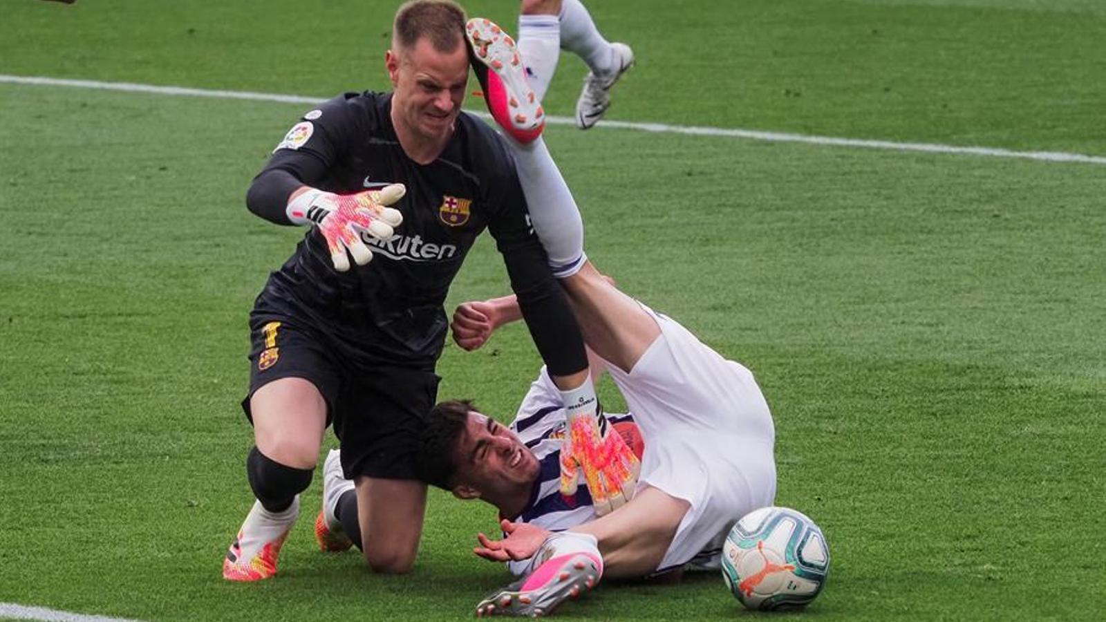 El Barça viu un altre suplici per seguir viu a la Lliga (0-1)