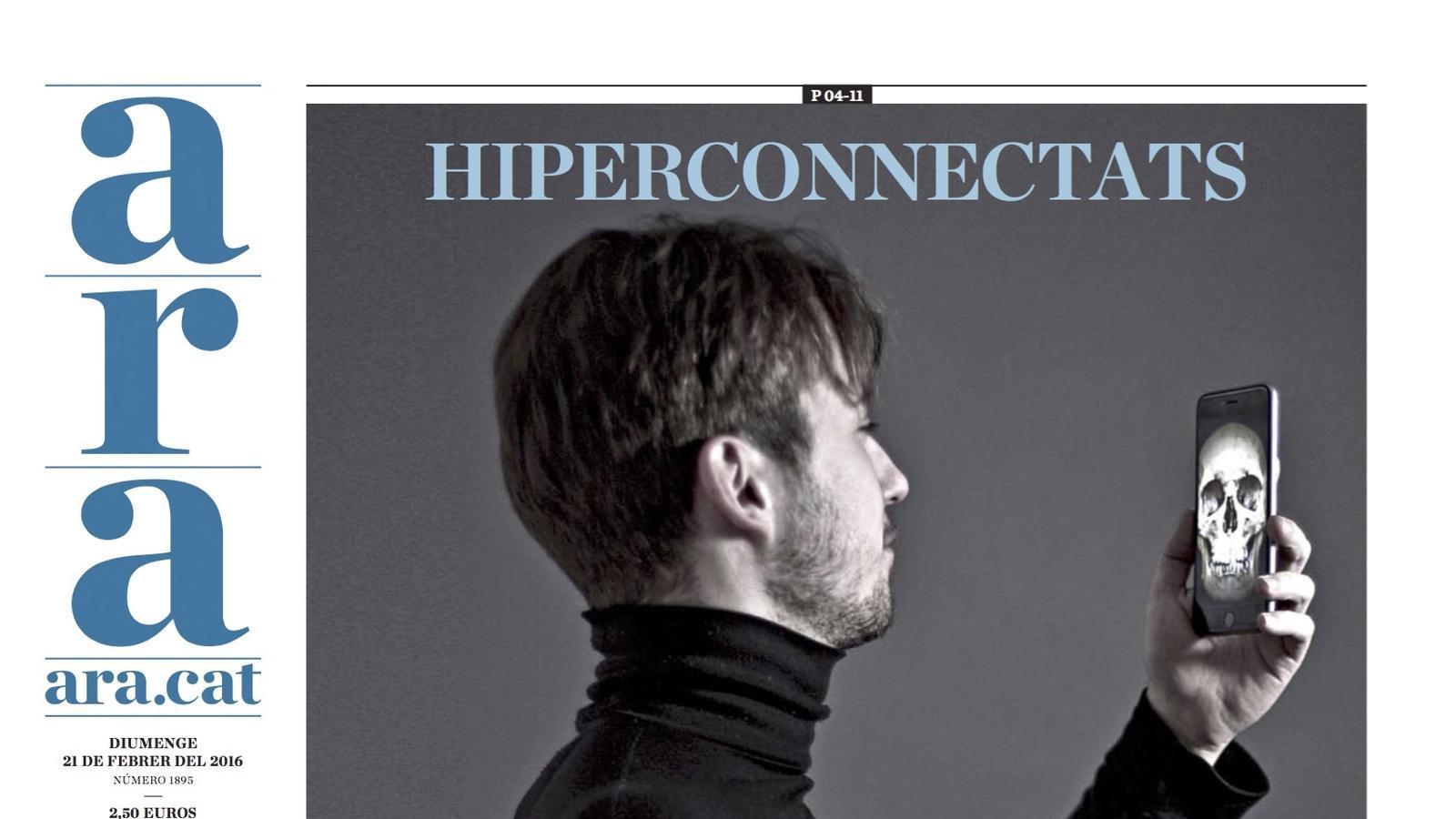 La portada de l'ARA especial dedicat al Mobile World Congress