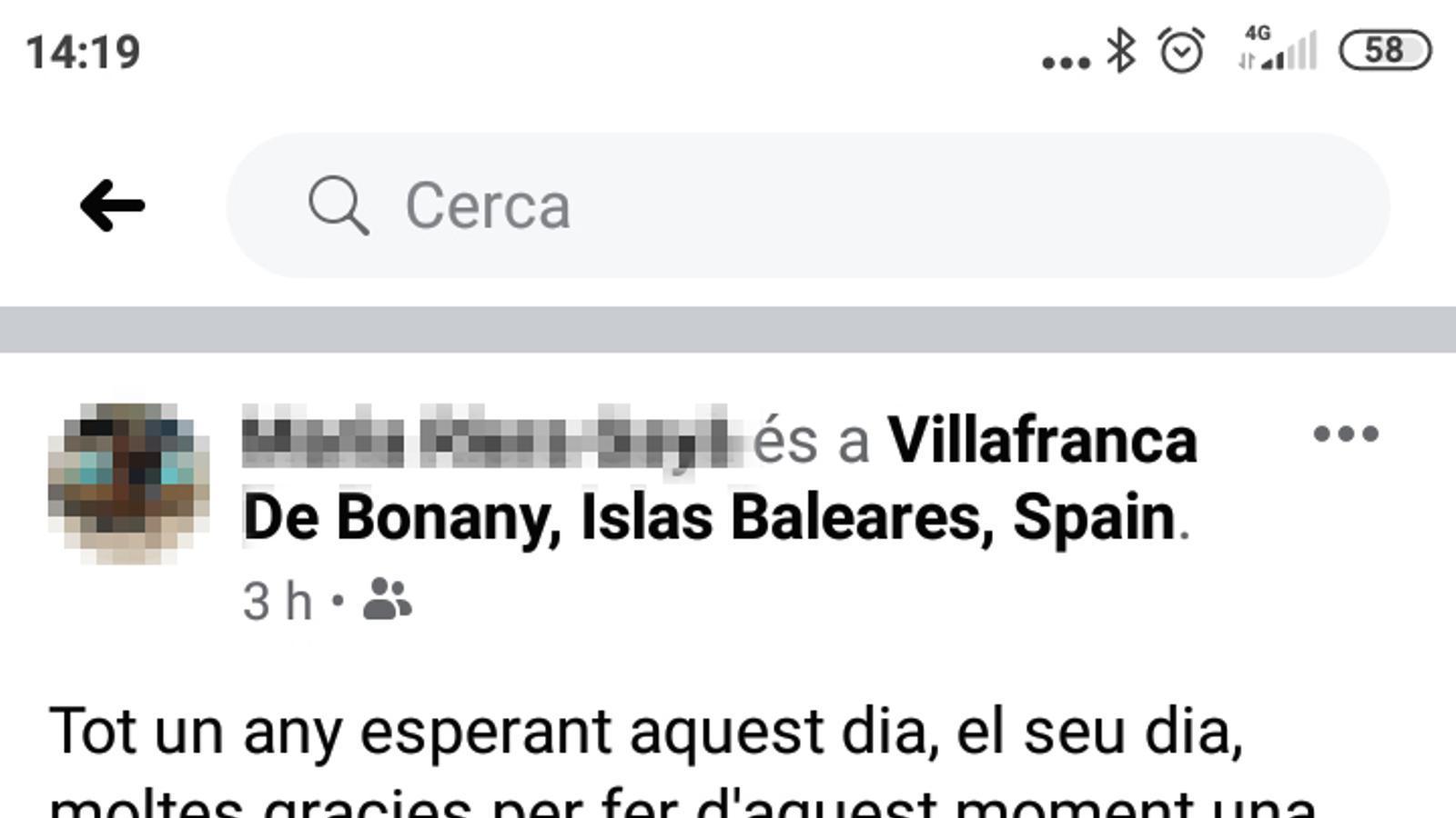 El batle de Vilafranca admet que dos regidors es llevaren la mascareta per fotografiar-se amb la gent gran
