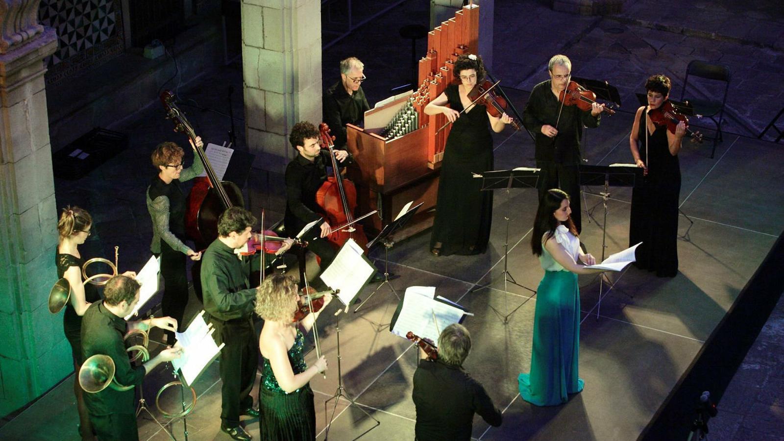 L'Orquestra Barroca Catalana en una actuació.