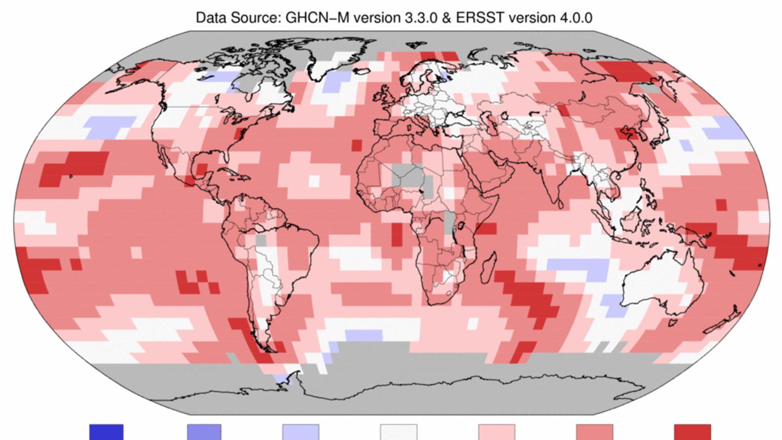 El segon mes d'abril més càlid al planeta des que hi ha dades
