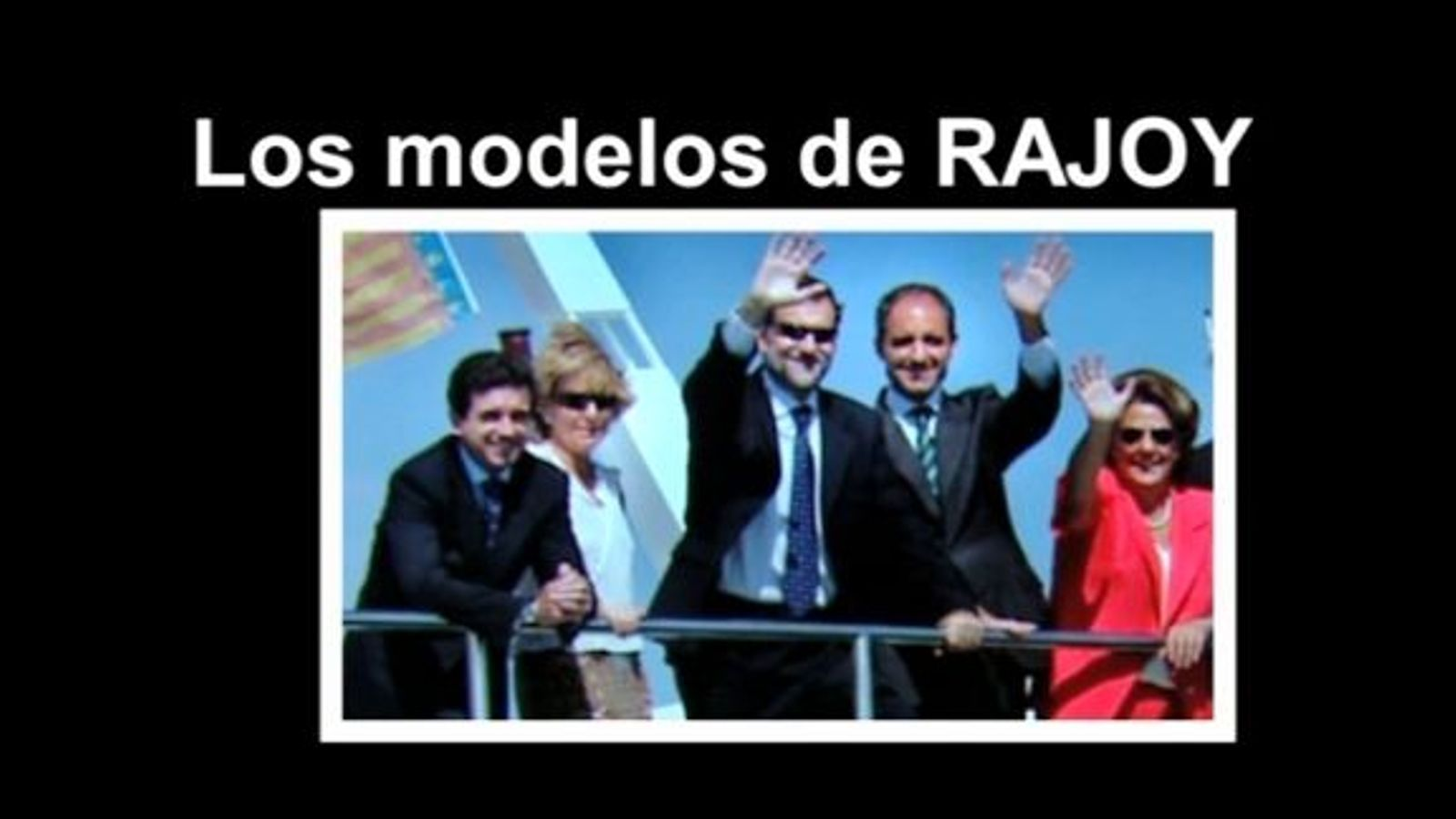 'Els models de Rajoy': el vídeo del PSOE que no volen veure a la Moncloa després de la condemna de Matas