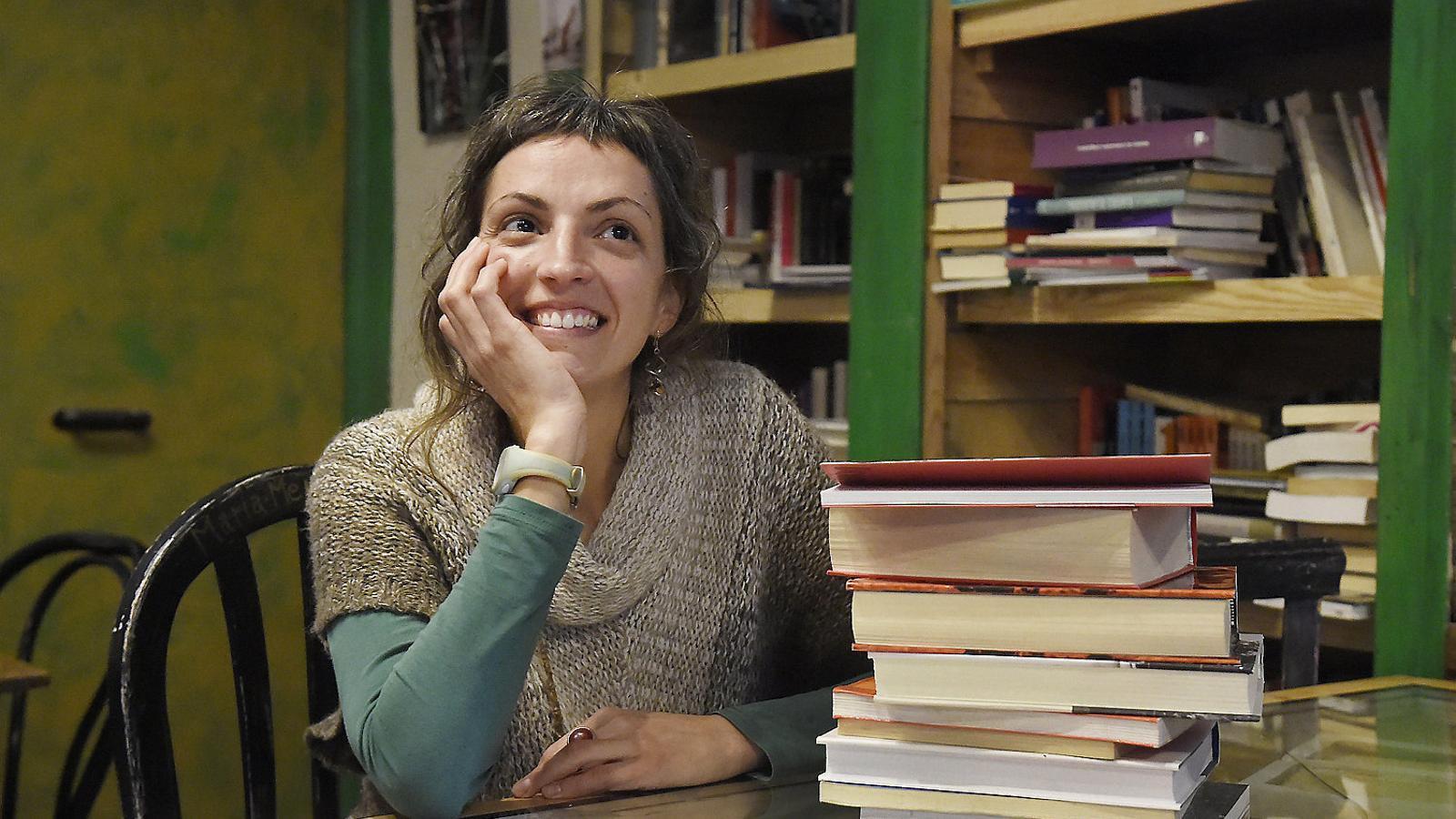 Nadia Tolsà  és una de les impulsores de la Biblioteca  de la Dona Escriptora, amb seu a Maldà (Urgell).
