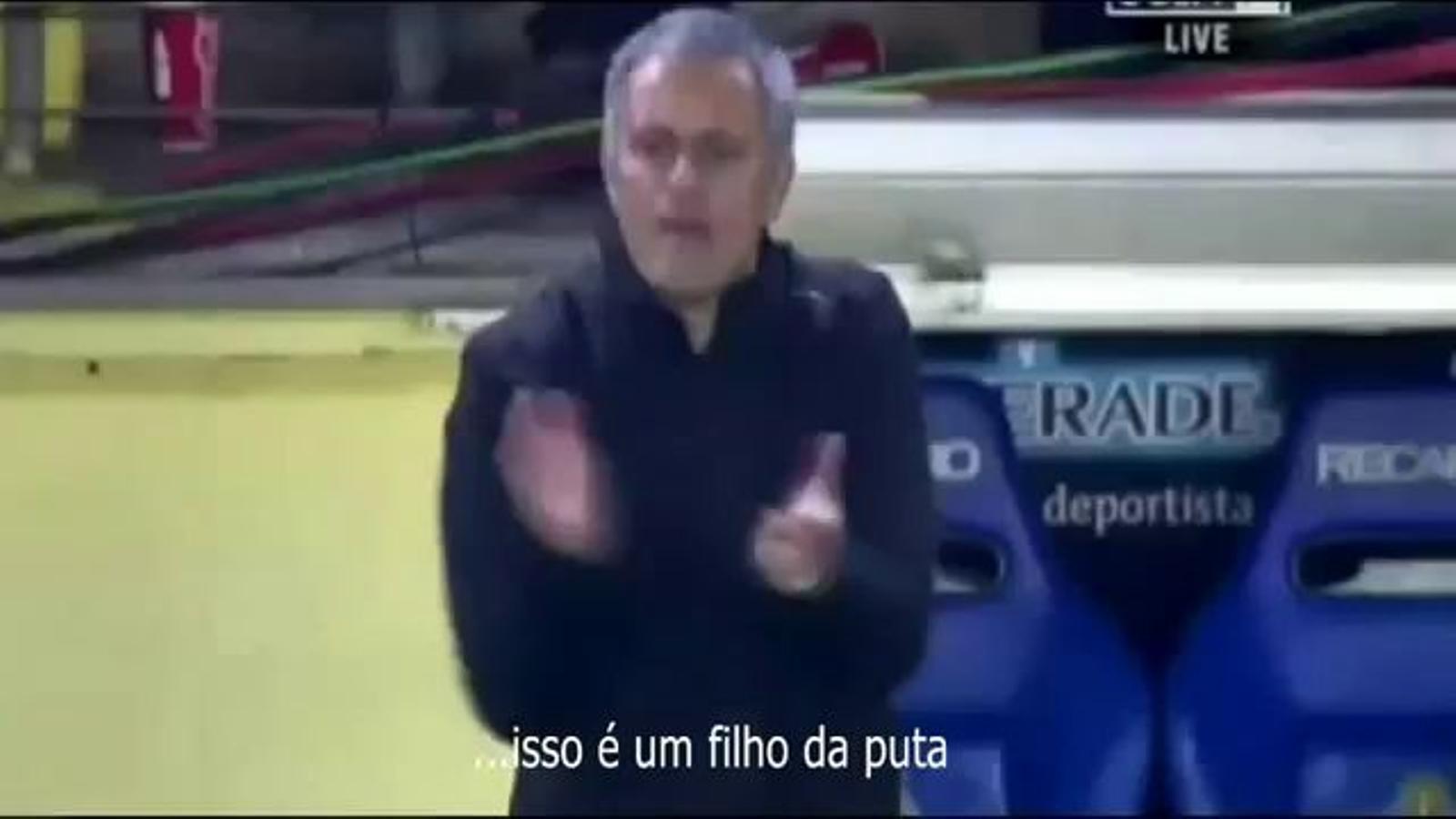 Els insults de Mourinho a Paradas Romero