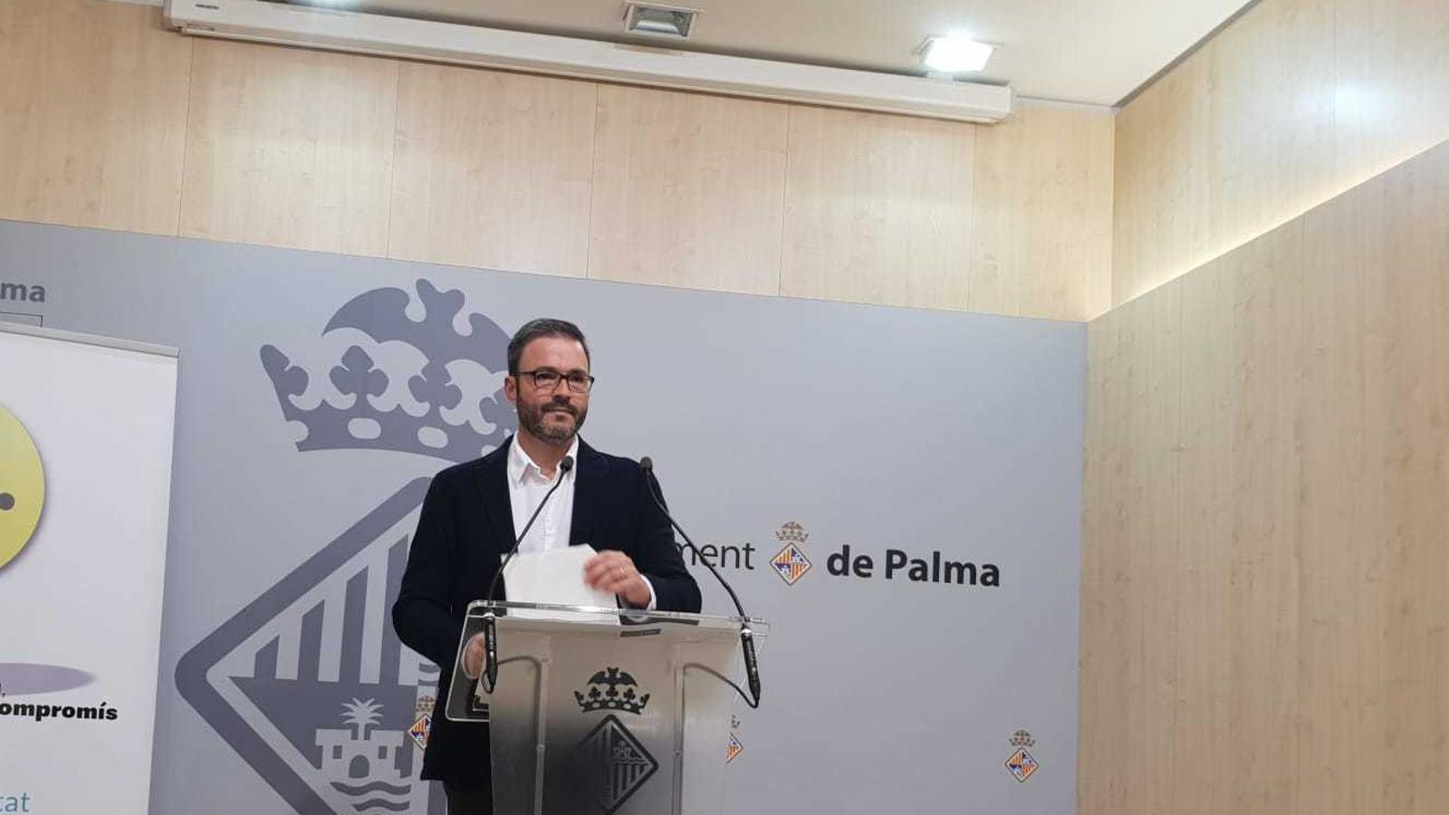 El regidor d'Urbanisme de l'Ajuntament de Palma, José Hila