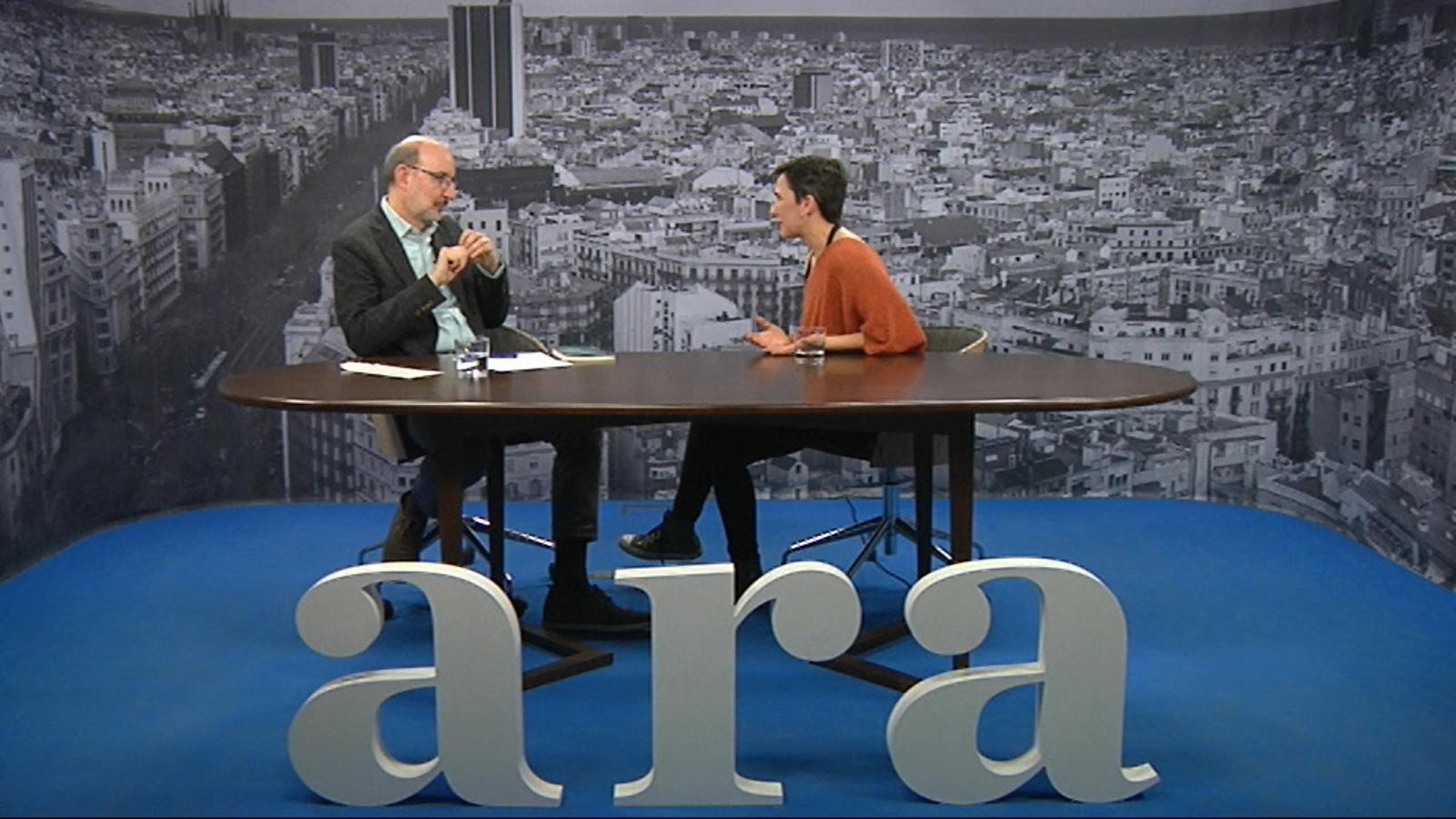 Entrevista d'Antoni Bassas a Bel Olid
