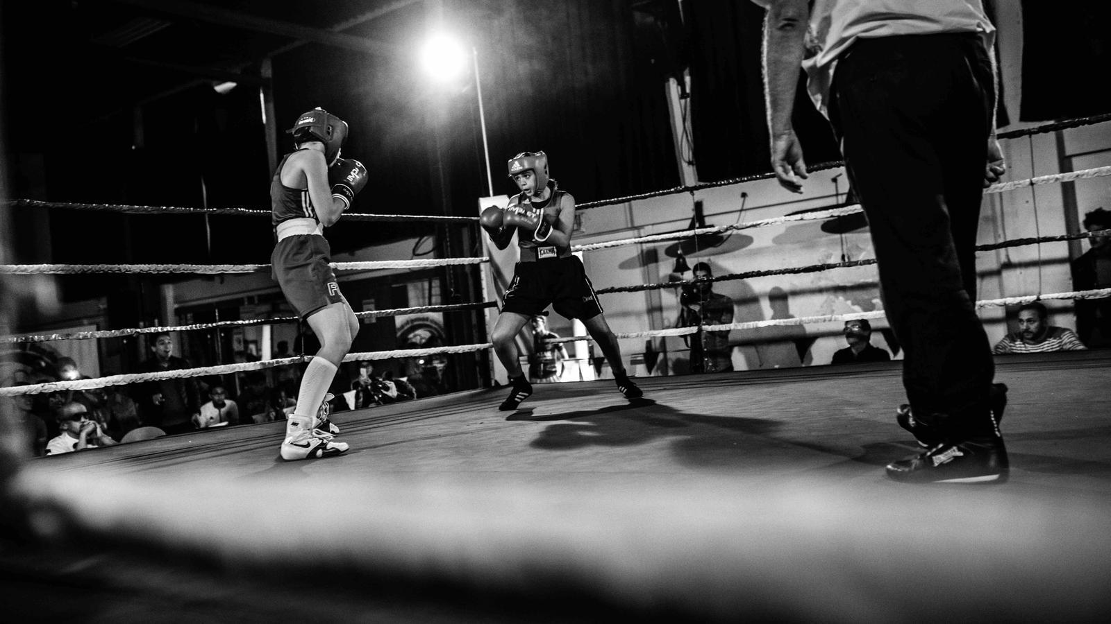 La campiona de Molenbeek, el doble combat de la Salma