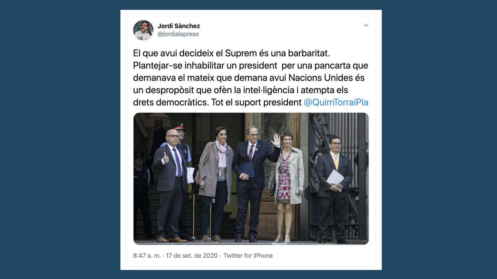 L'anàlisi d'Antoni Bassas: 'Barbaritat al Suprem'