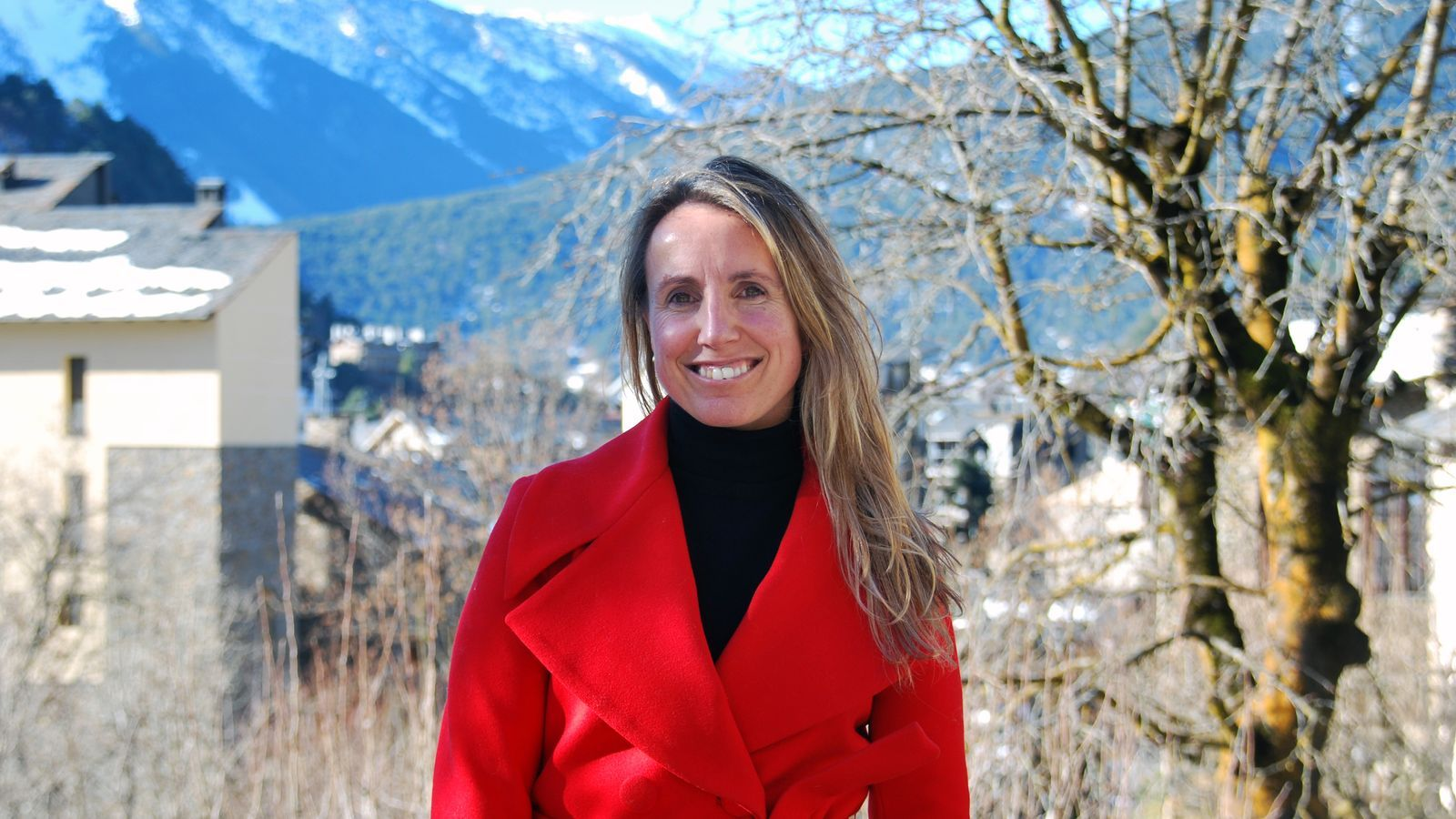 Marta Alsina, autora del llibre 'La vida que et queda'. / C. G.
