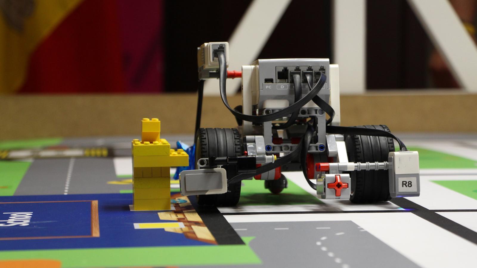 Un dels robots que ha participat en la WRO 2019. / M. P. (ANA)