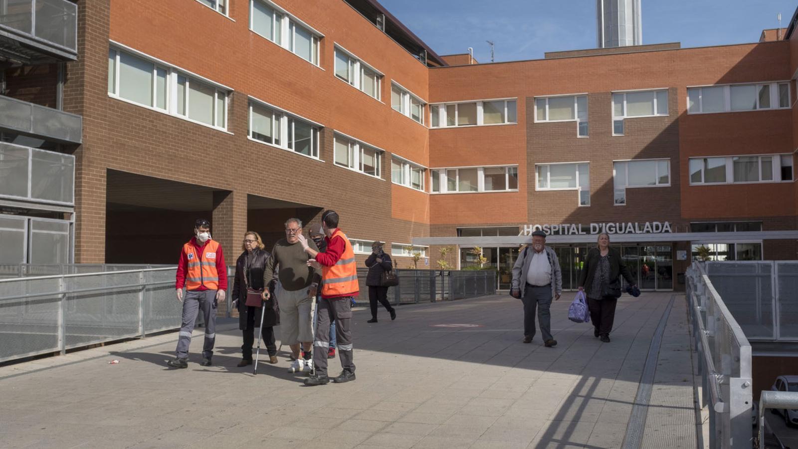 46 afectats i 3 morts pel brot de coronavirus a Igualada