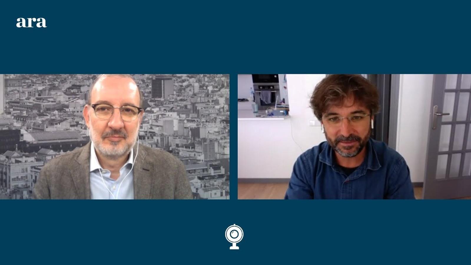 Entrevista d'Antoni Bassas a Jordi Évole