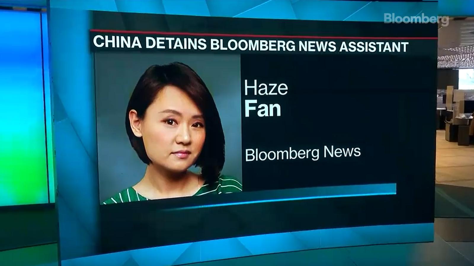 La periodista xinesa Haze Fan ha sigut detinguda a Pequín