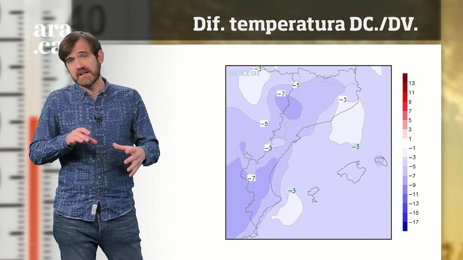 Méteo especial: les ventades obriran la porta a la primera fredorada de l'hivern