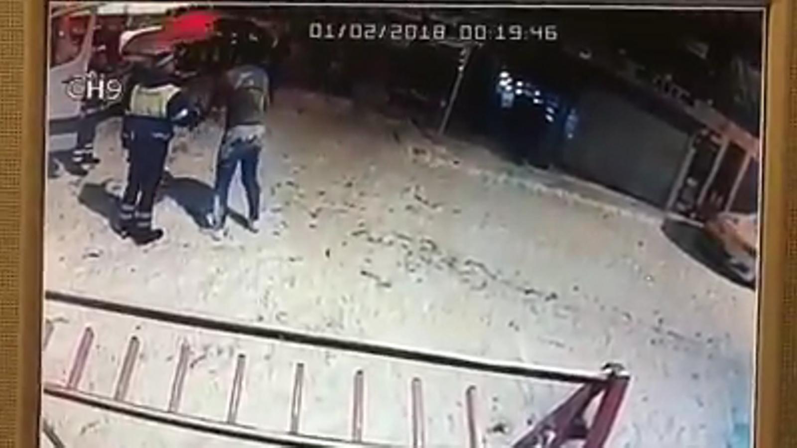 Vídeo de l'home ebri al Pas de la Casa / FACEBOOK