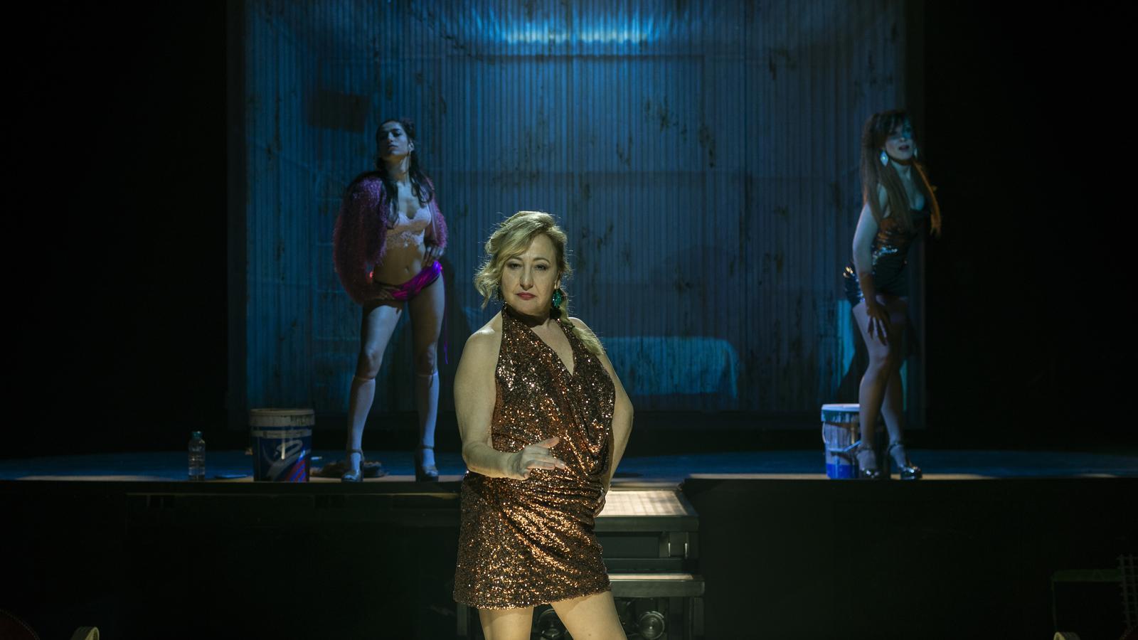 Una escena de l'espectacle 'Prostitución'