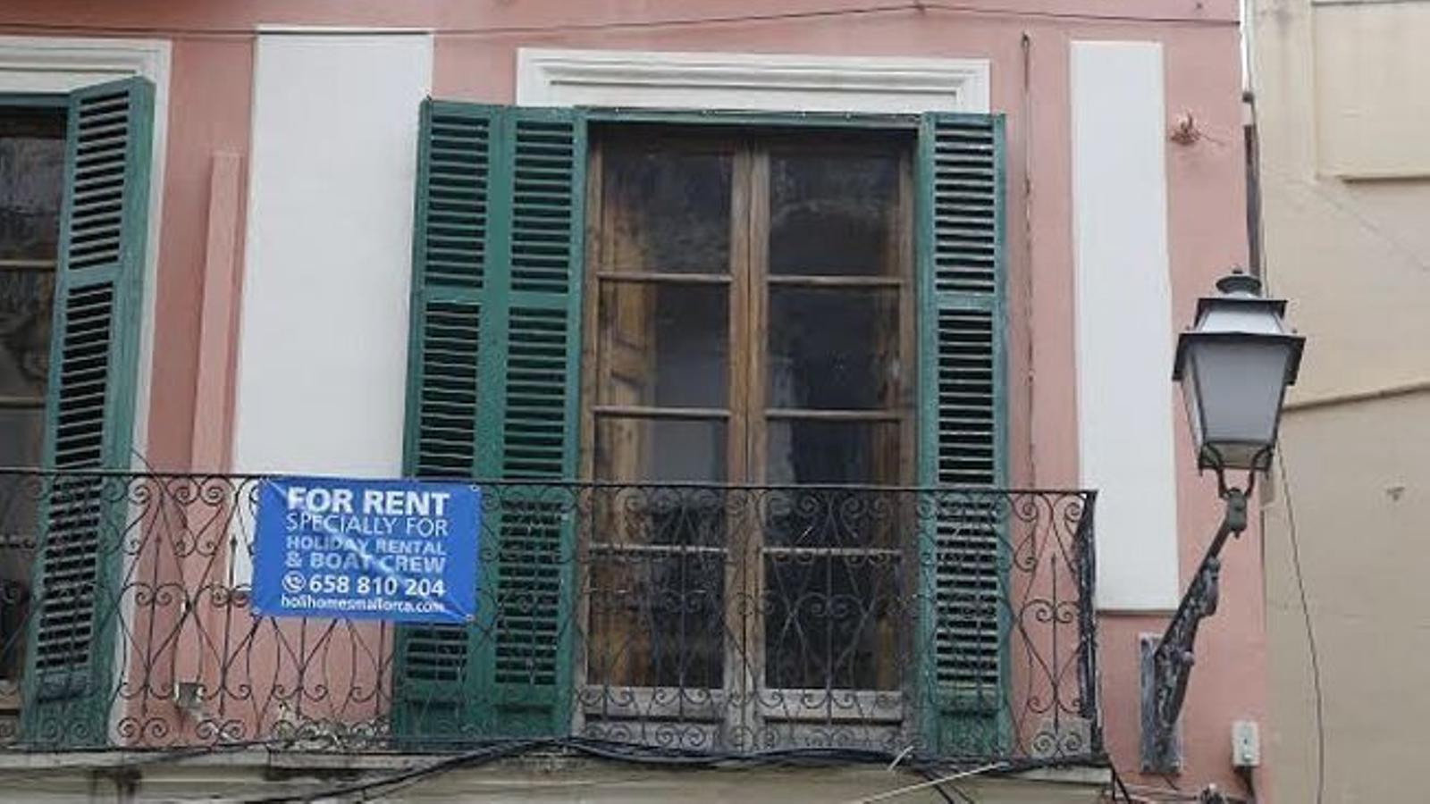 El preu de l'habitatge de segona mà a Palma va baixar un 1,92% respecte al mes de juny.