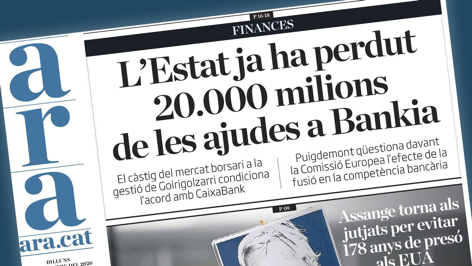 Preocupa la fusió CaixaBank-Bankia, inauguració de l'any judicial i Messi torna a entrenar amb el Barça: les claus del dia, amb Antoni Bassas (07/09/2020)