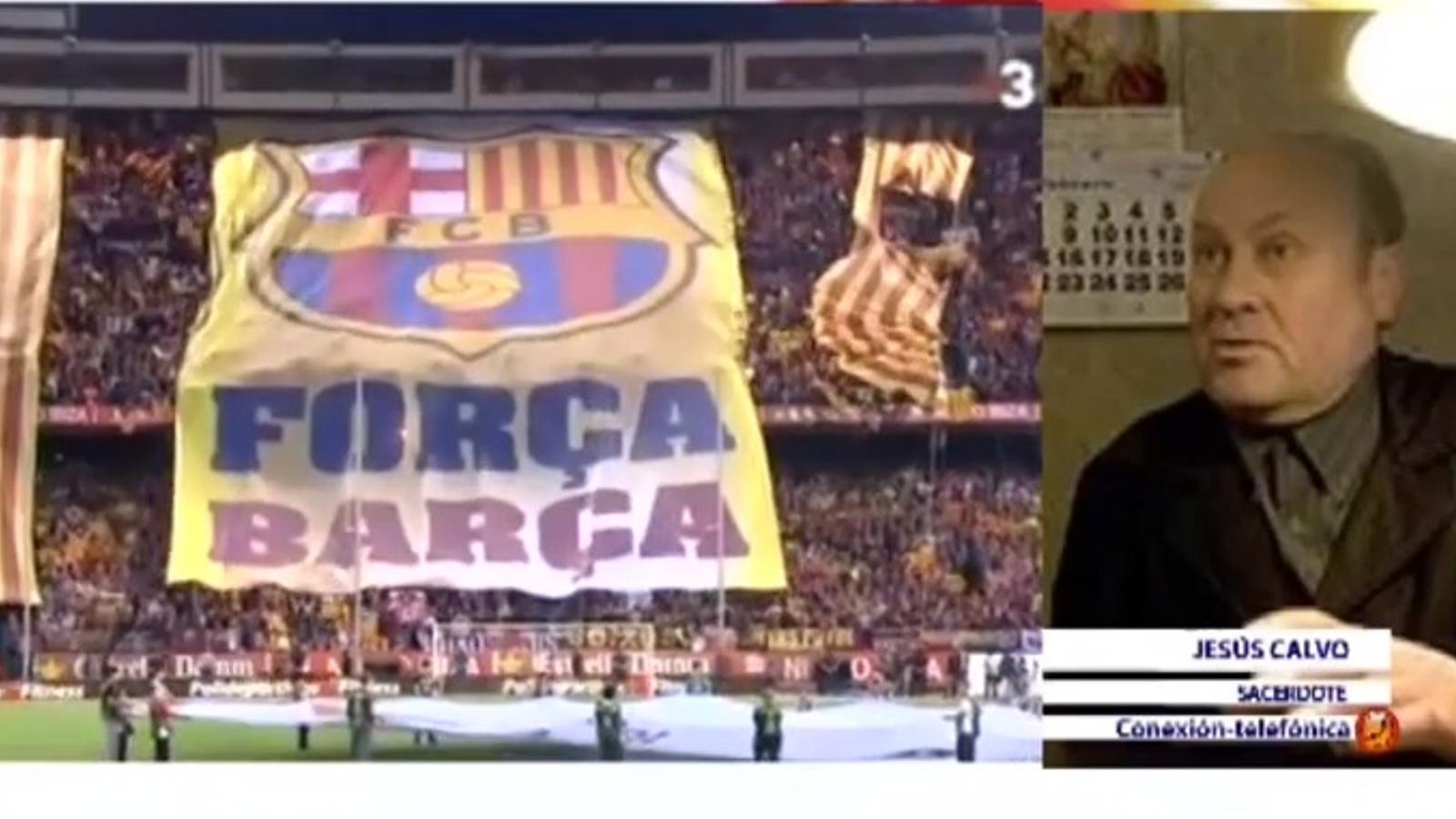 Un col·laborador de 'La Ratonera' sobre la xiulada a l'himne: Això amb Franco no passava