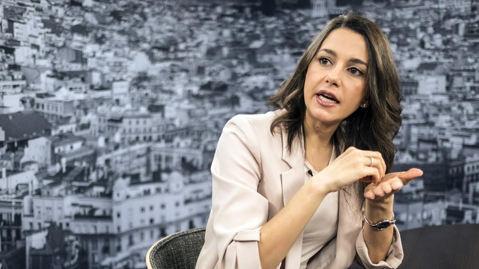 """Inés Arrimadas: """"Després de la matraca del govern durant tants anys, no han pogut convèncer la majoria del catalans"""""""