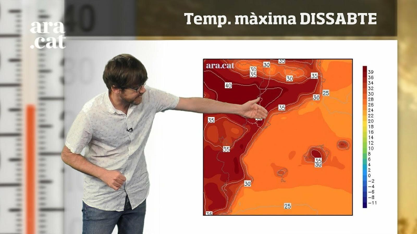 Méteo especial: arriba el pic de l'onada de calor