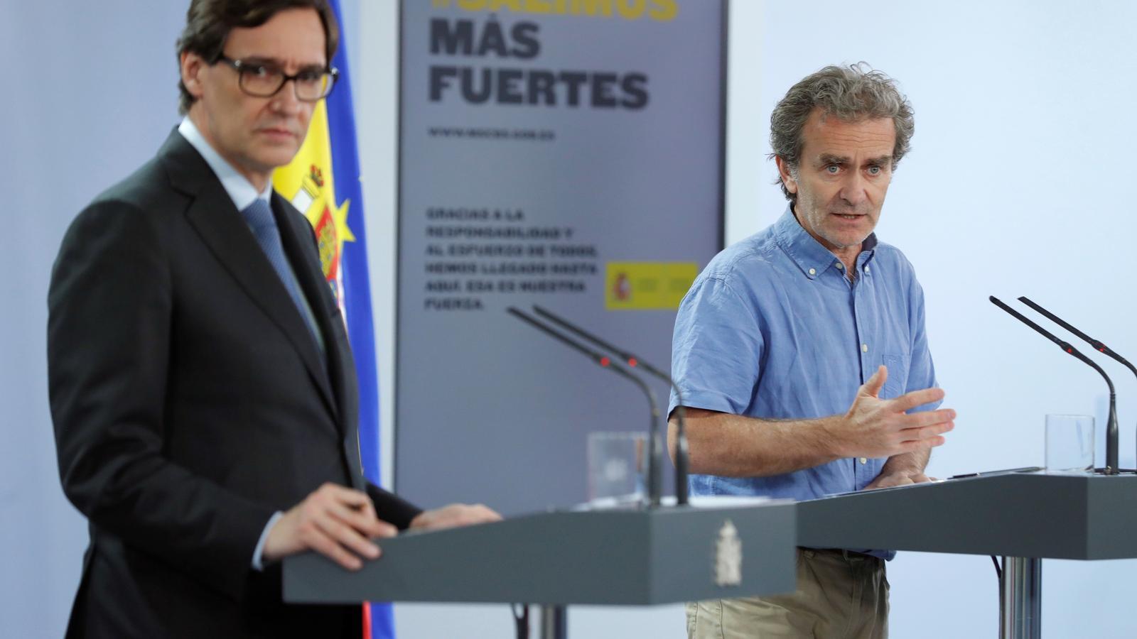 EN DIRECTE |Simón i Illa compareixen per informar de l'evolució de la pandèmia amb Madrid al punt de mira