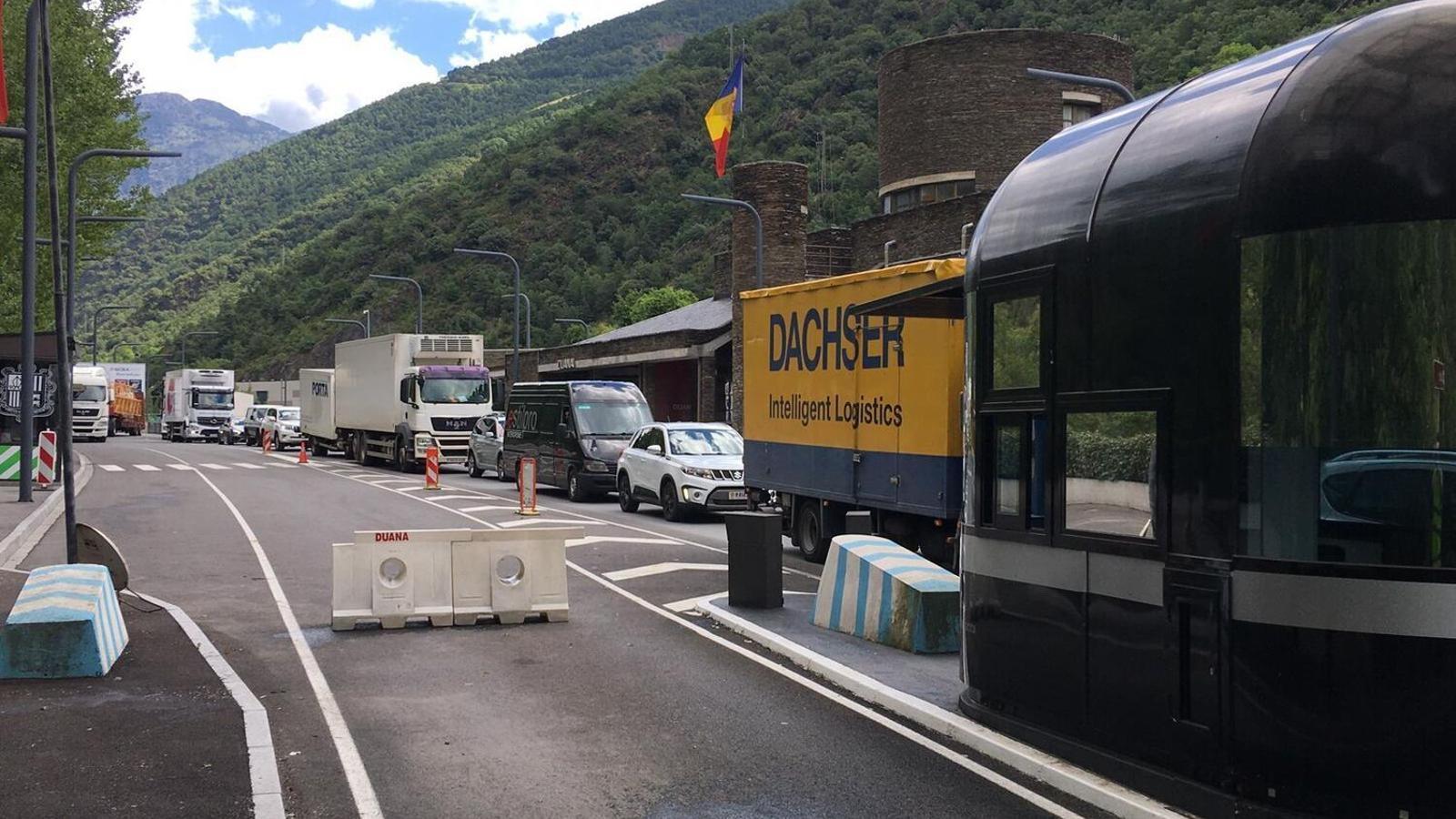 La frontera hispano-andorrana. / ANA