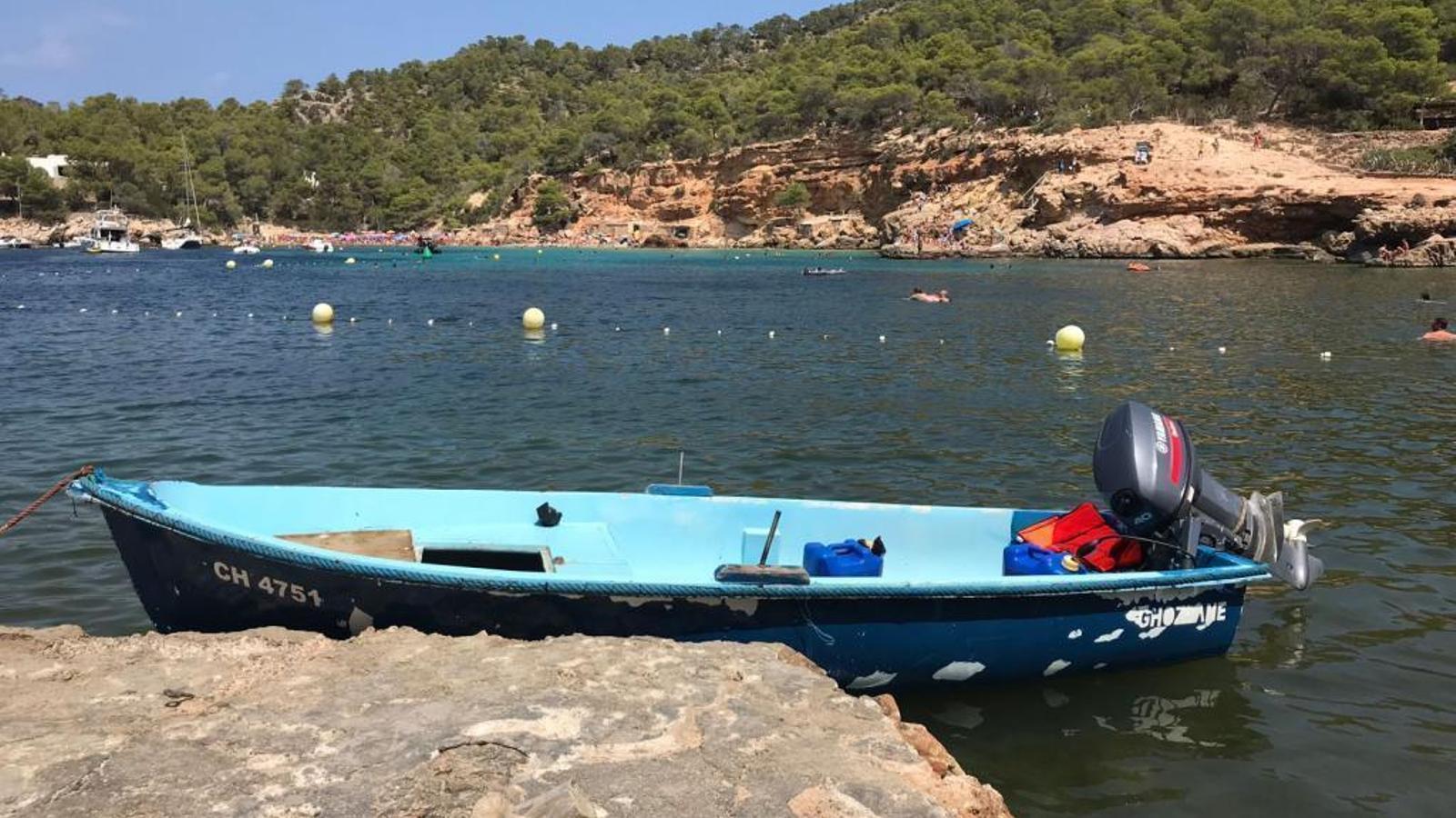 Imatge d'arxiu d'una pastera arribada a Eivissa el passat agost.