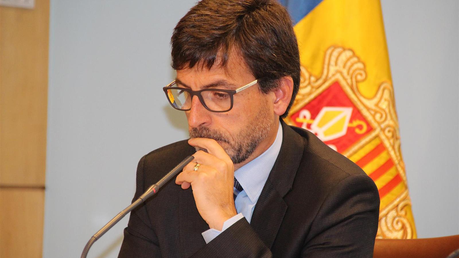 El ministre de Finances, Jordi Cinca, en una imatge d'arxiu. / ARXIU ANA