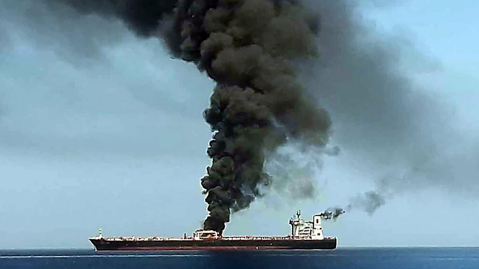 Els EUA acusen l'Iran de l'atac de dos petroliers
