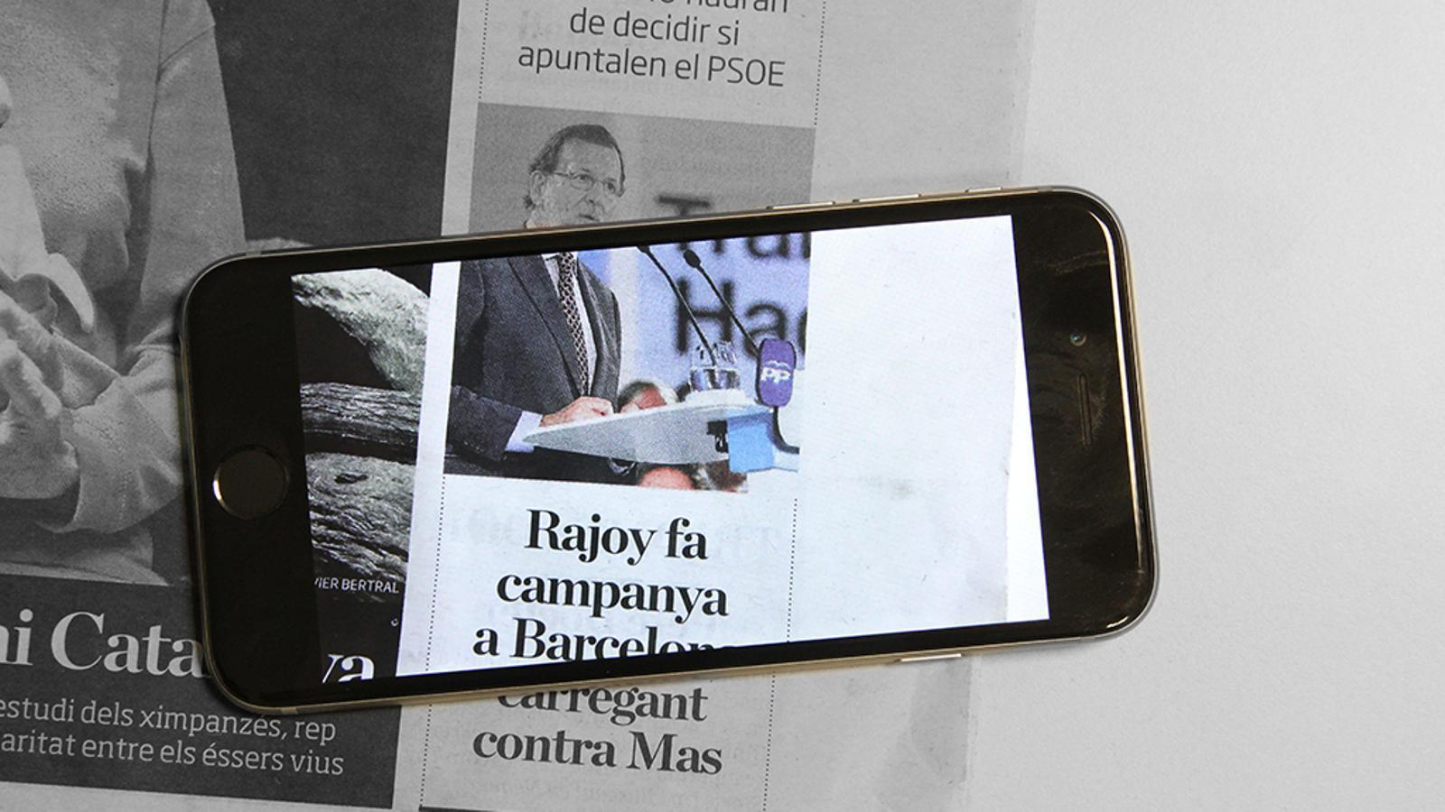 L'editorial d'Antoni Bassas: Els sarcasmes de Rajoy i els temors sobre el procés (19/05/2015)