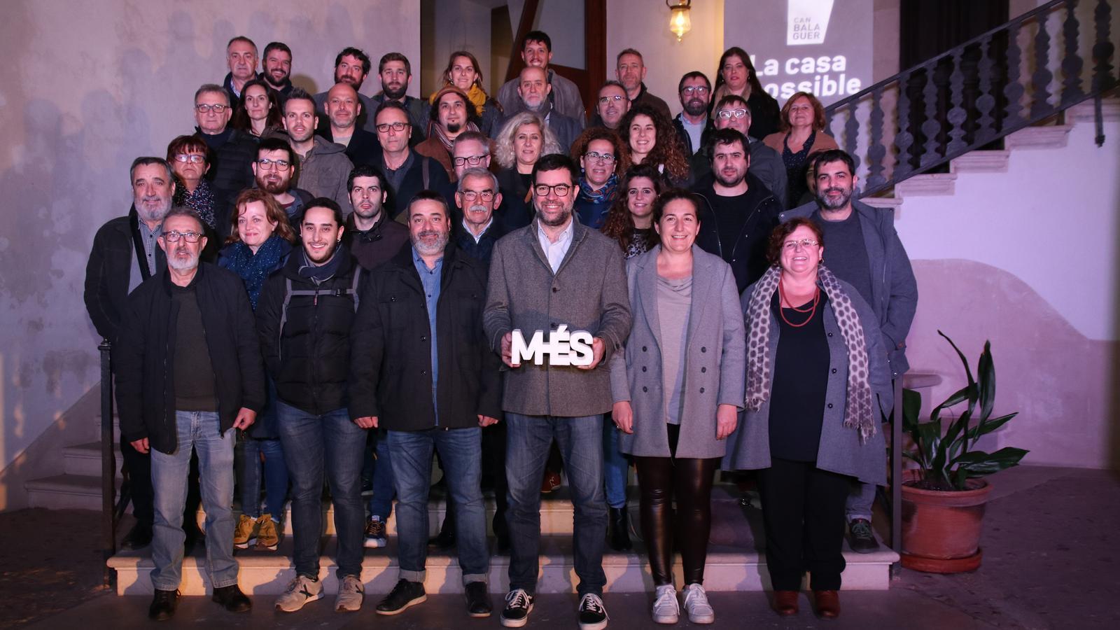 Imatge de la reunió amb responsables de les 48 agrupacions locals de MÉS.