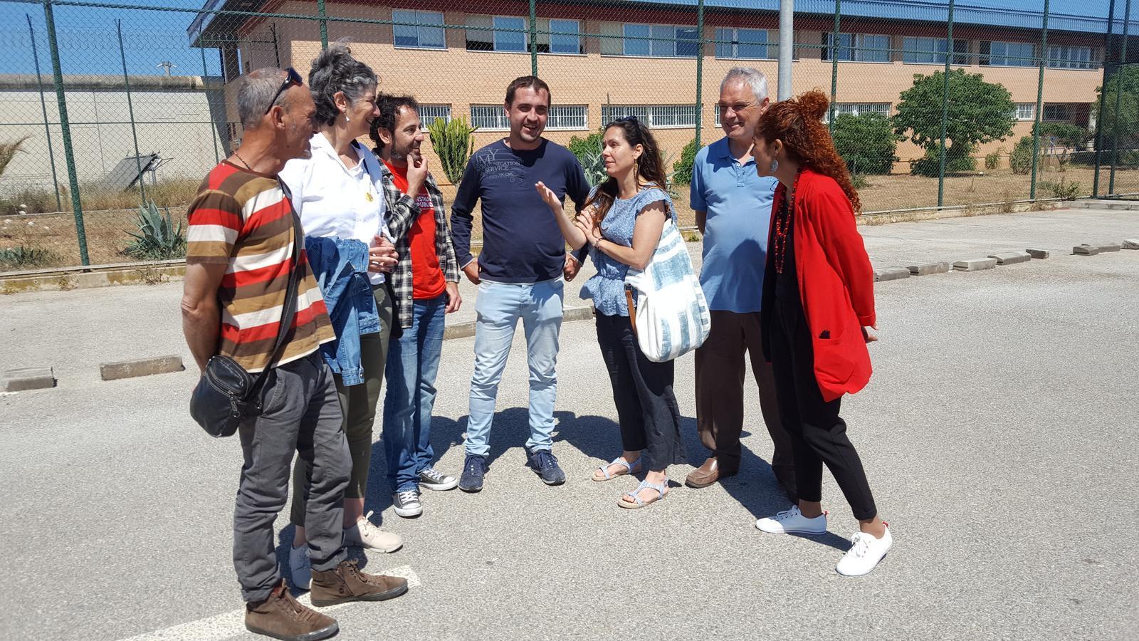 Acte de campanya europea d'Ara Repúbliques a la presó de Palma