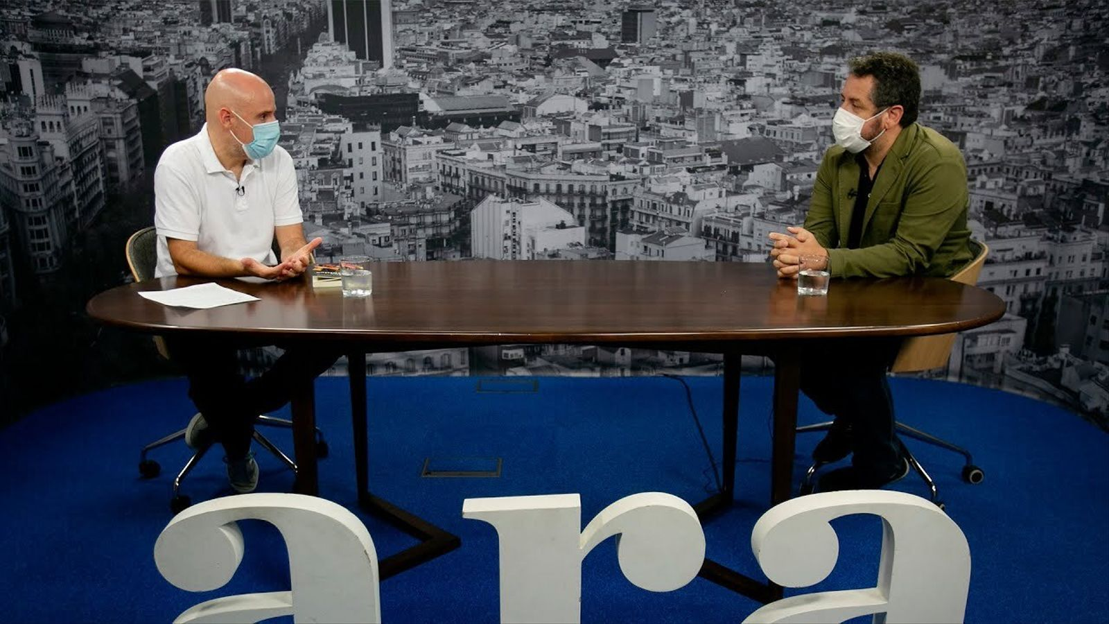 David Miró entrevista a Joan Rusiñol
