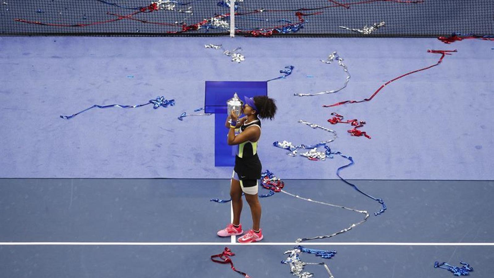 Naomi Osaka, la campiona que no aïllar-se de la realitat