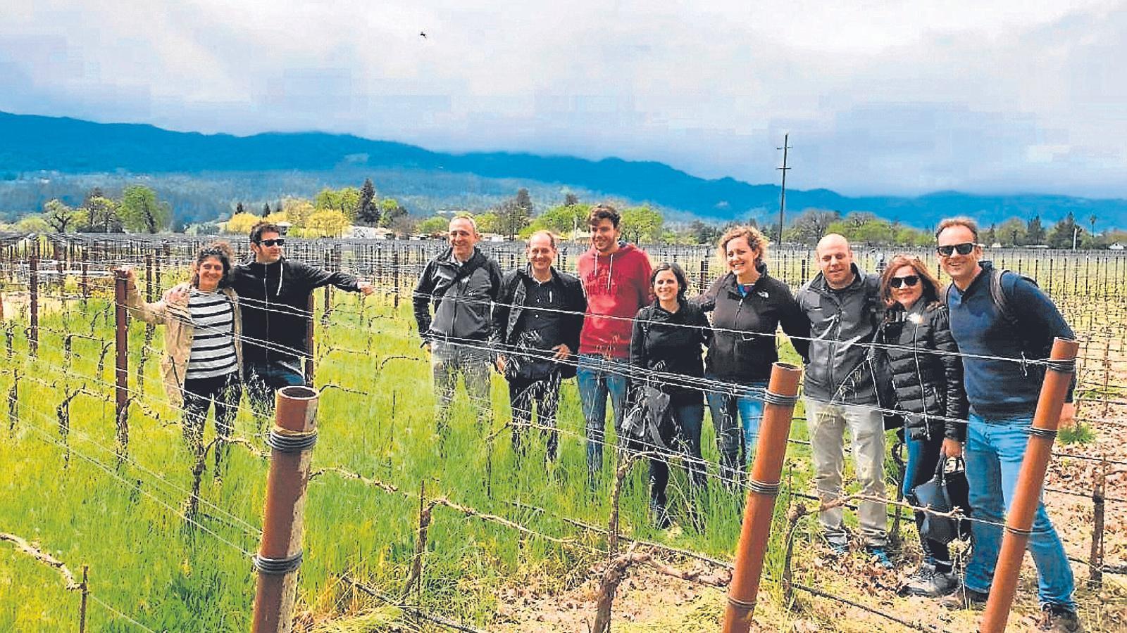 Quaranta-cinc pagesos, productors i tècnics agrícoles de les Illes Balears feren una estada d'una setmana a l'estat nord-americà de Califòrnia.
