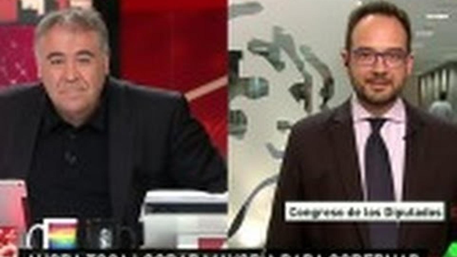 """28.06.2016. Antonio Hernando: """"Ni suport ni abstenció a Rajoy"""""""