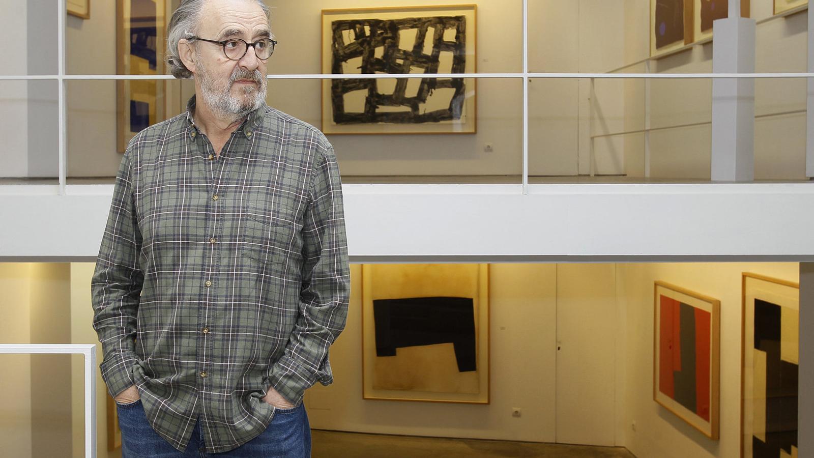 """Ramon Canet: """"Reivindic la paraula pintor davant el terme artista visual o artista plàstic"""""""