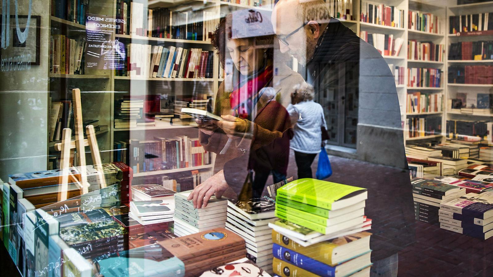 La llibreria  No Llegiu del barri del Poblenou, a Barcelona, és de les que han obert tots els festius aquest cap de setmana.