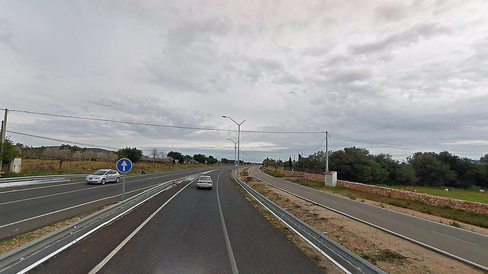 Imatge d'arxiu de l'autopista Ma 1, en direcció a Andratx.