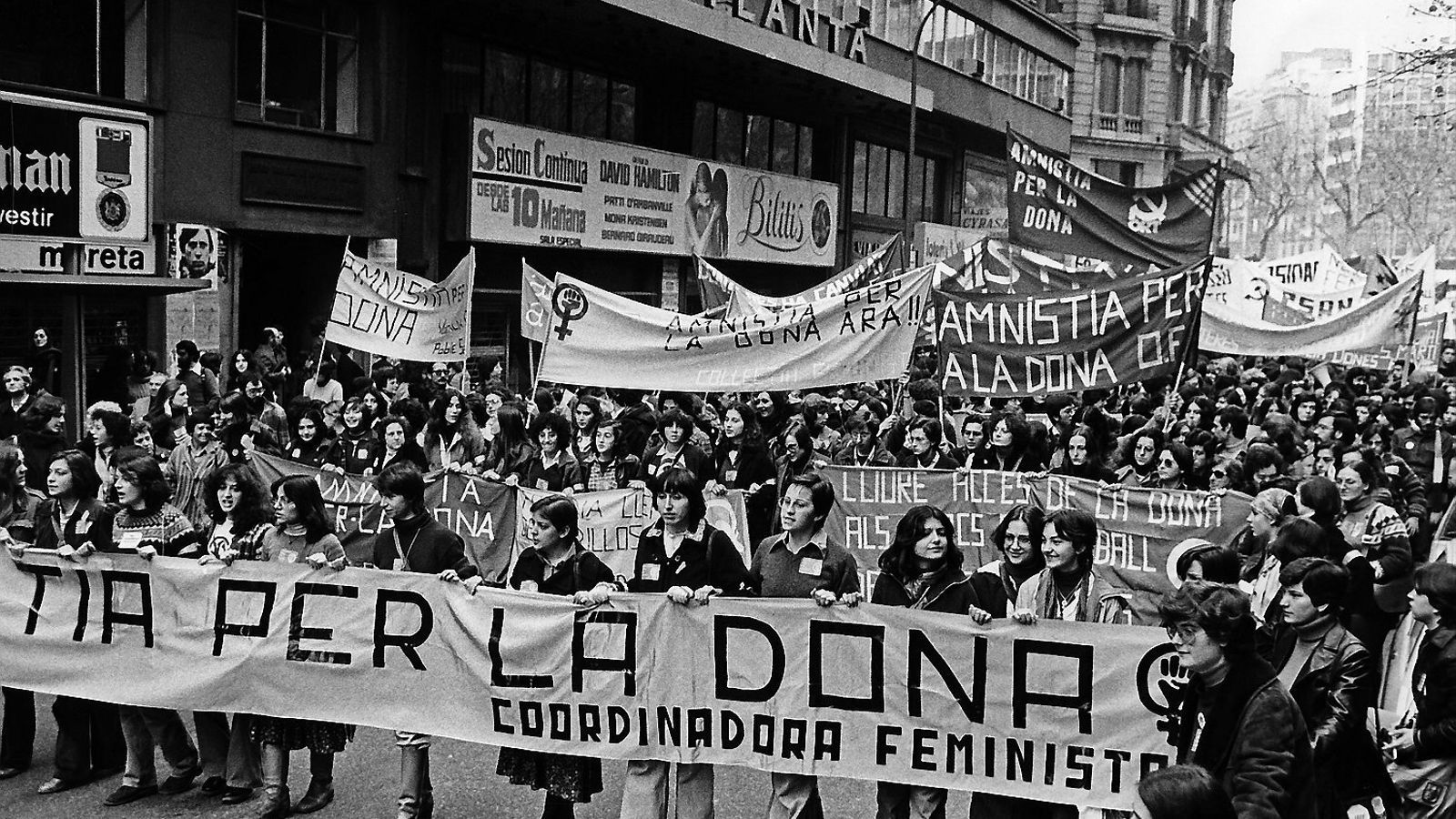 Feministes dels 70:  alliberant la sexualitat segrestada
