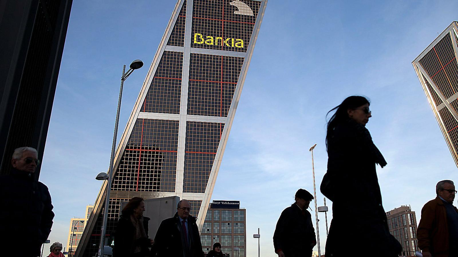 La seu de Bankia, a Madrid.