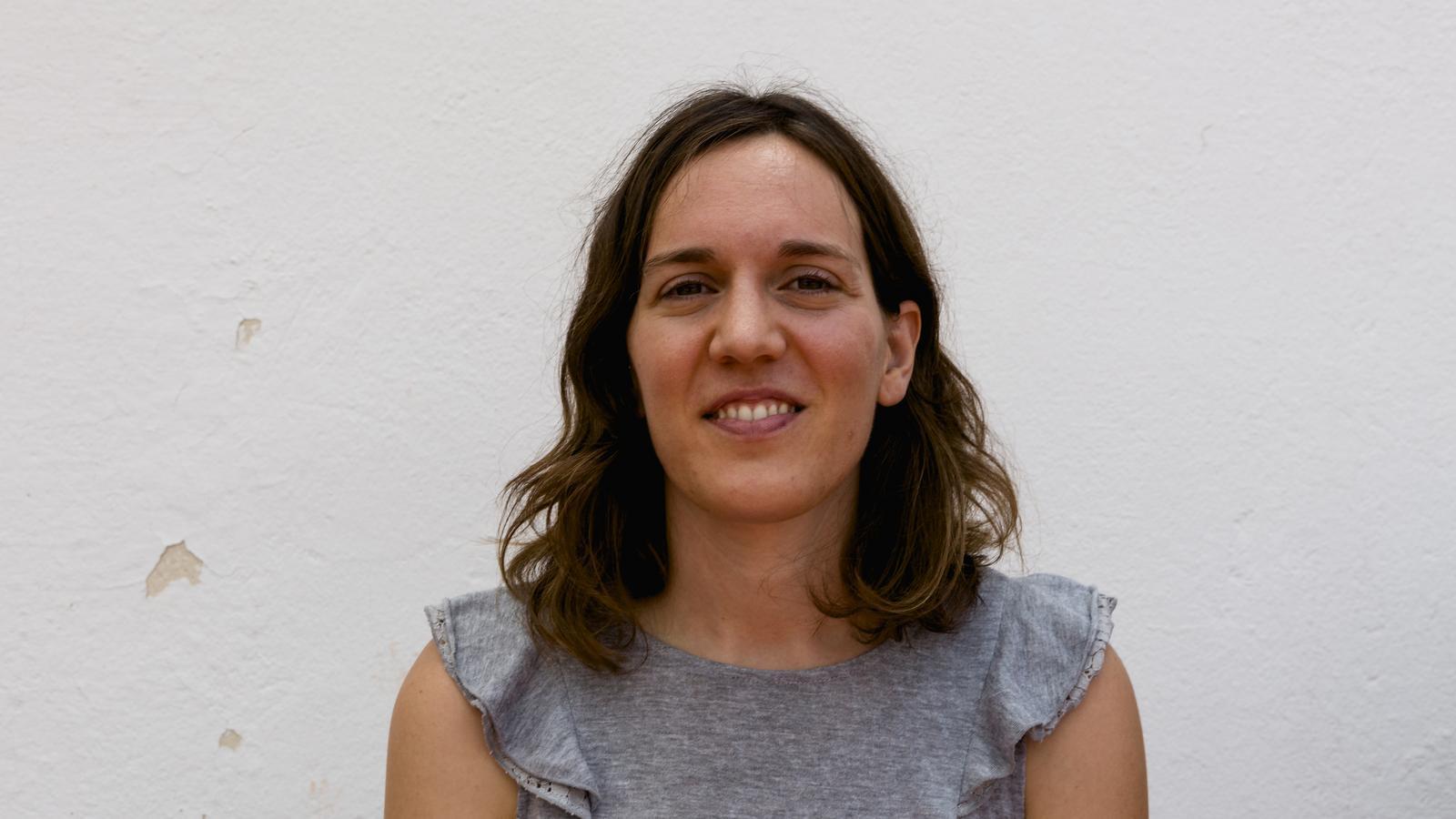 La ginecòloga Laia Ferrer Ventura, a Barcelona on treballa en l'actualitat