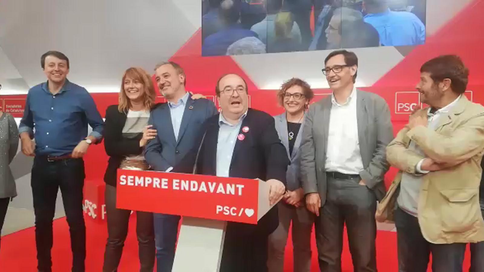 """Iceta proclama """"el retorn del PSC"""" a la primera línia de la política"""