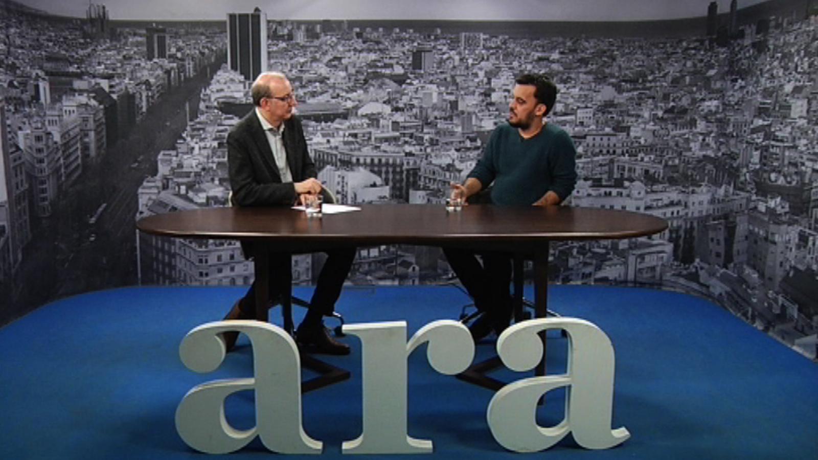 Entrevista d'Antoni Bassas a Samuel Aranda