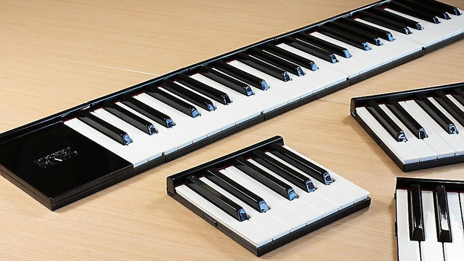 El Pocket Piano presentat ahir.