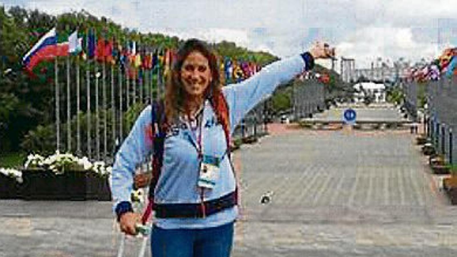 La catalana Érika Villaécija busca un bitllet per a Rio 2016.