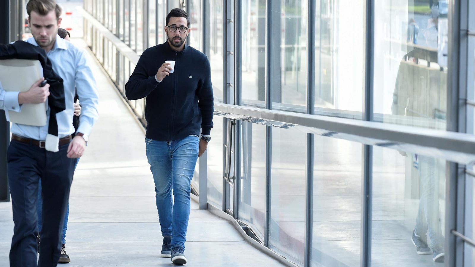 Valtònyc als jutjats de Gant / AFP