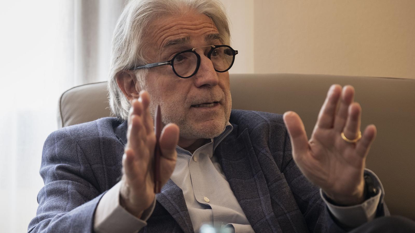 Josep Sánchez i Llibre, president del Foment del Treball