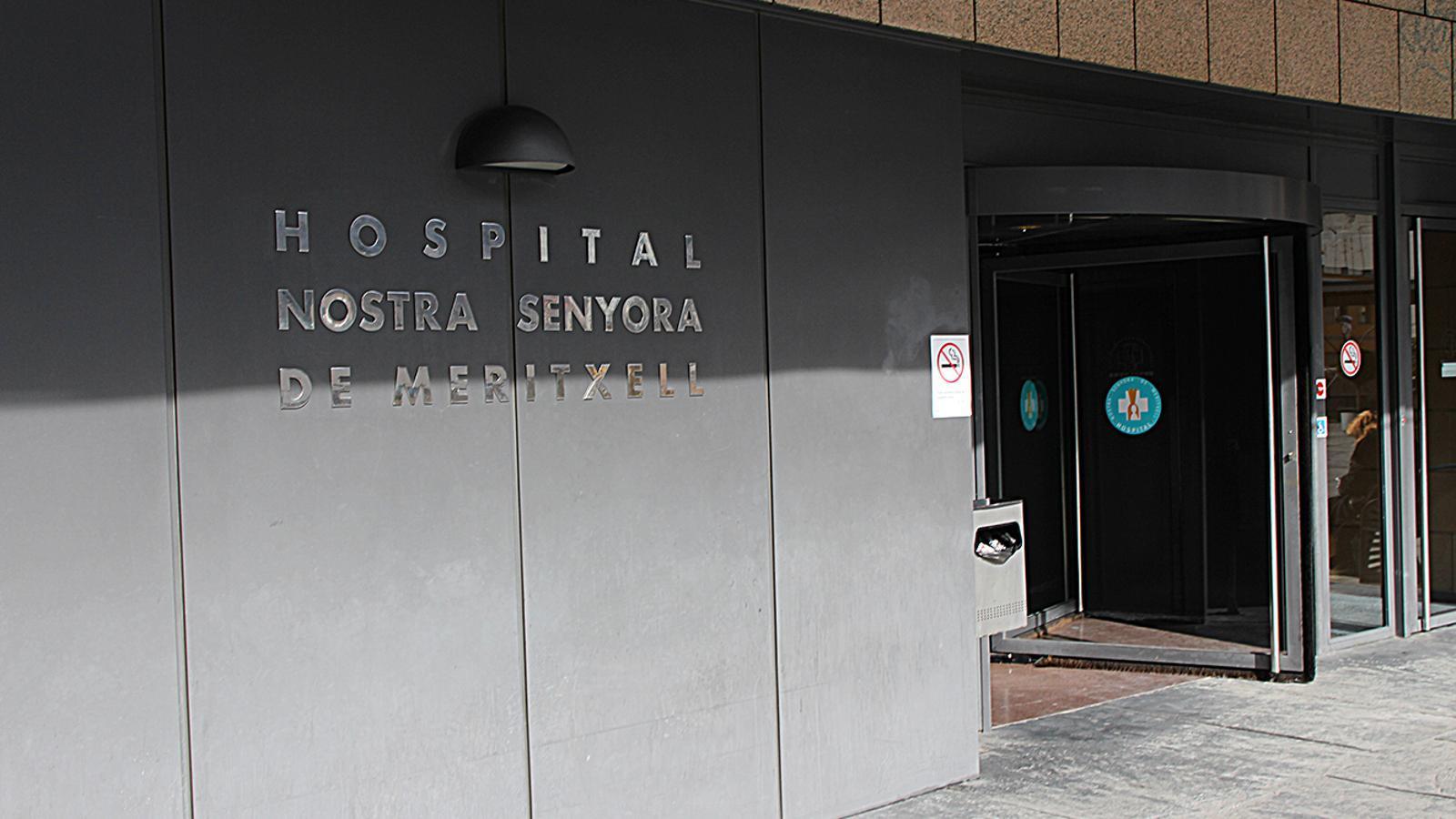 Imatge de l'hospital Nostra Senyora de Meritxell. / ARXIU ANA